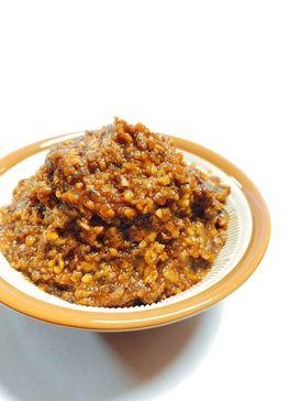 自家製黒豆で作った黒豆味噌1kg