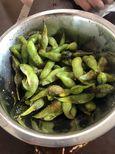 甘い美味しい枝豆で驚きました!